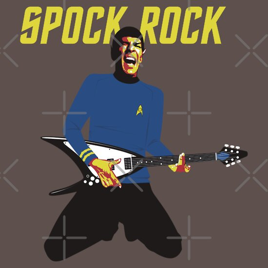 TShirtGifter presents: Spock Rock