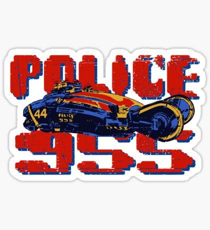 Police Spinner Sticker
