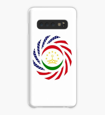 Tajik American Multinational Patriot Flag Series Case/Skin for Samsung Galaxy