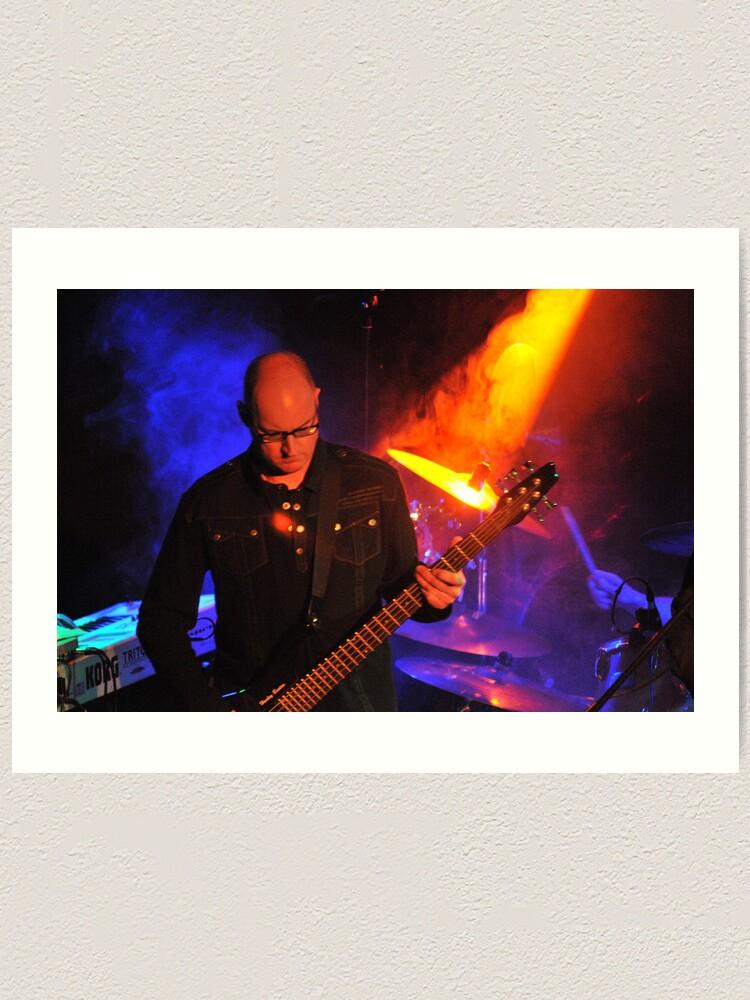 Alternate view of As If - Steve Rothwell on Bass Art Print