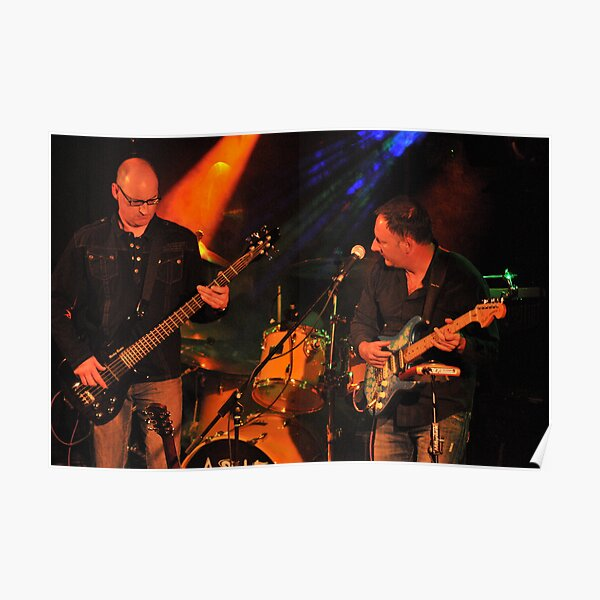 As If - Steve Rothwell on Bass & Philip Goss -guitars and vocals Poster