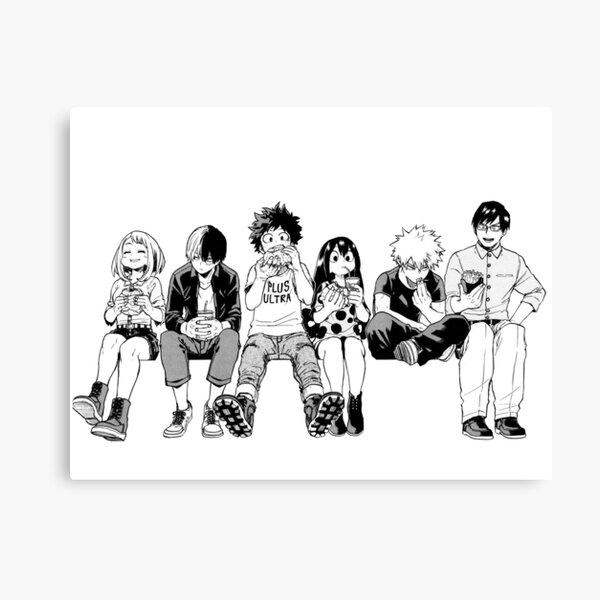BW Squad Canvas Print