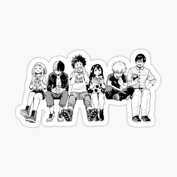 BW Squad Sticker