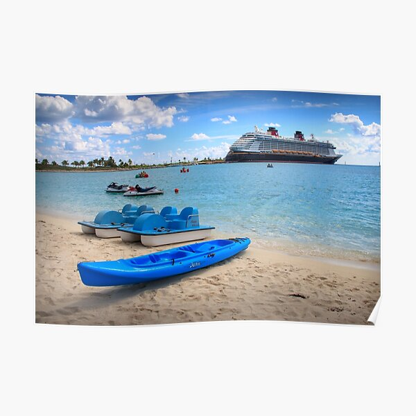 Castaway Cay Watersports Poster