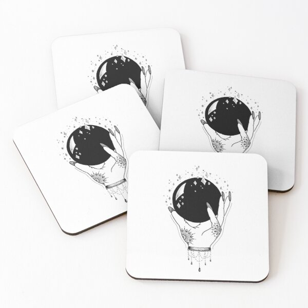 Crystal Ball Coasters (Set of 4)