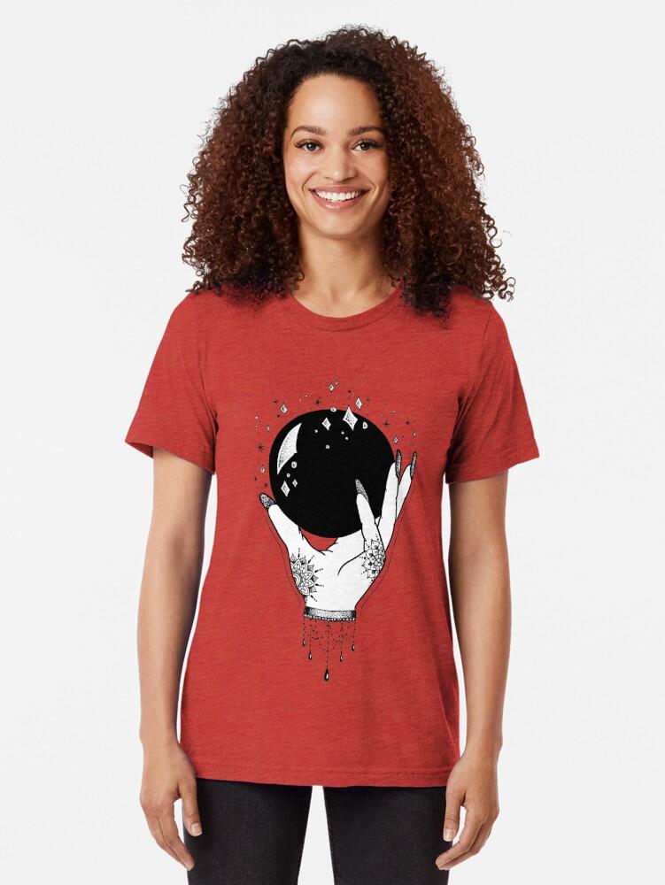 Alternative Ansicht von Kristallkugel Vintage T-Shirt