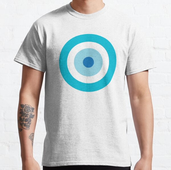 Evil Eye protection and good luck: Shades of Blue Classic T-Shirt