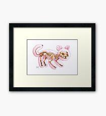 Balloon Cat Framed Print