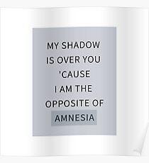 Gegenteil von Amnesie Poster
