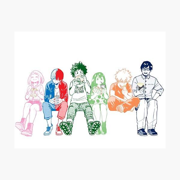 Colorful Squad Photographic Print