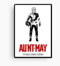 Aunt-Man Canvas Print
