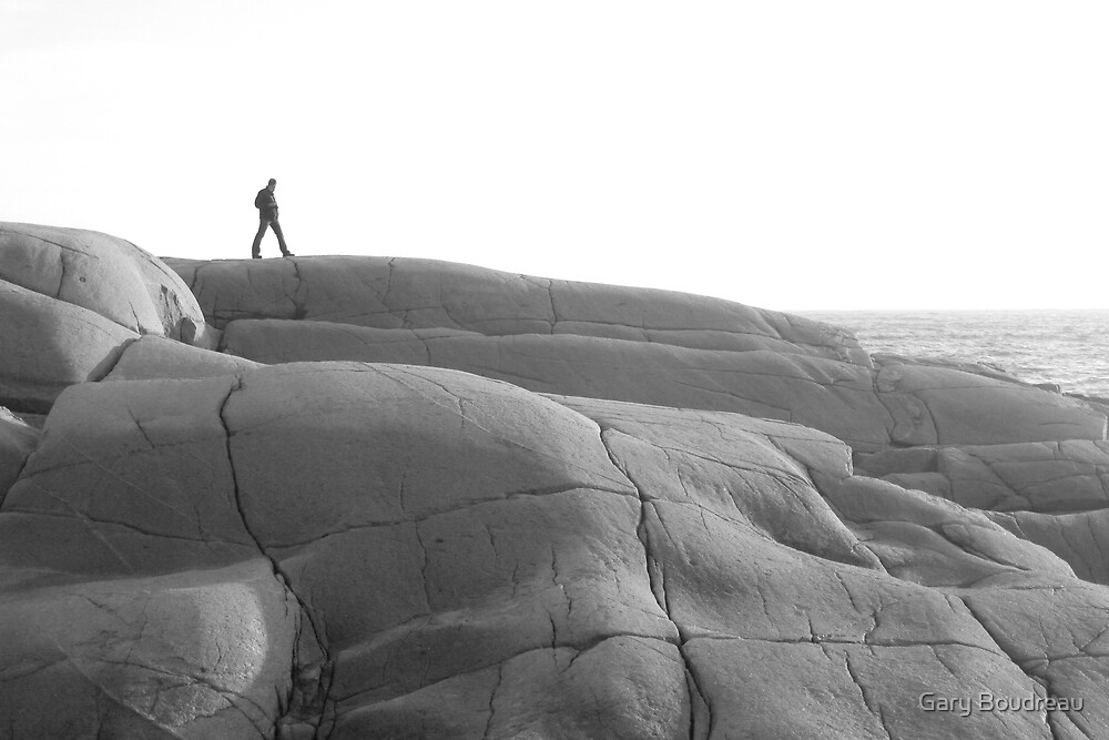 The Rocks at Peggy's Cove,Nova Scotia by Gary Boudreau