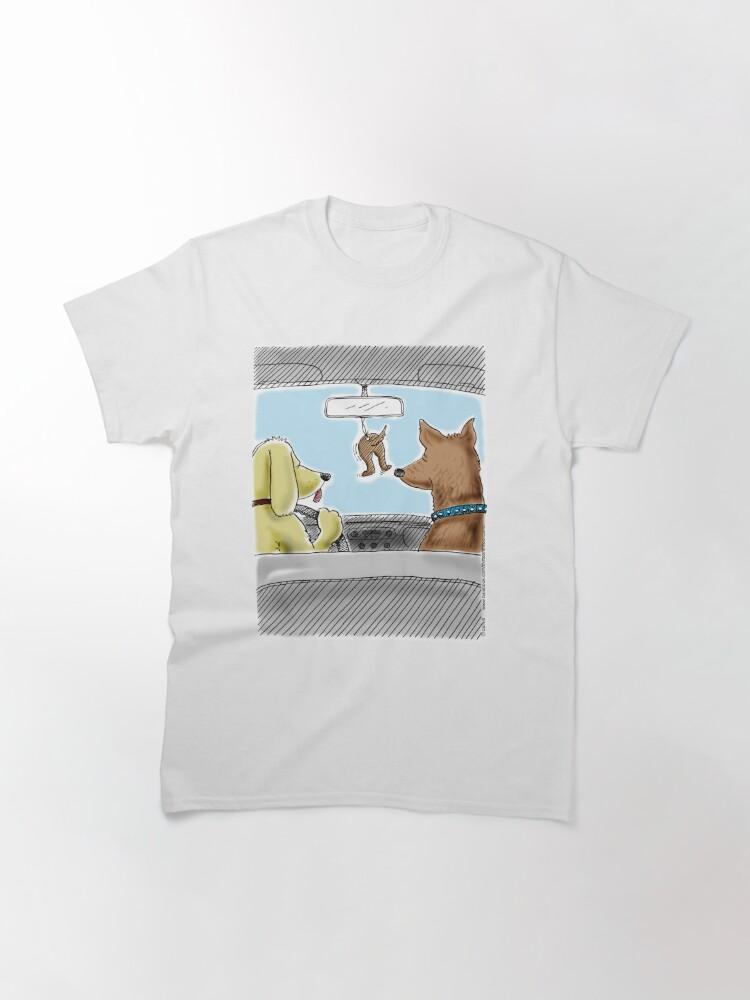Alternate view of Doggie Air Freshener - doggone true Classic T-Shirt
