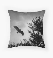 Meeting the Storm Throw Pillow