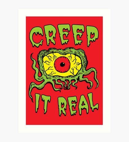 Creep It Real Lámina artística