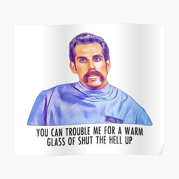 Happy Gilmore Ben Stiller Orderly Poster