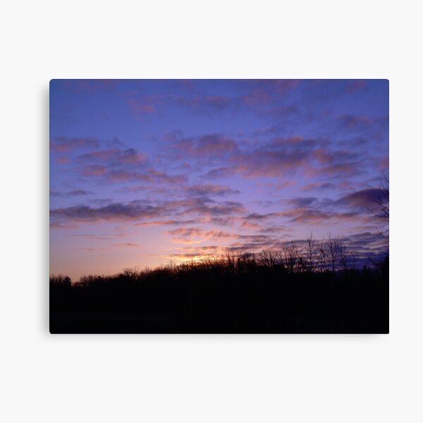 Colorful Clouds in the sky Canvas Print