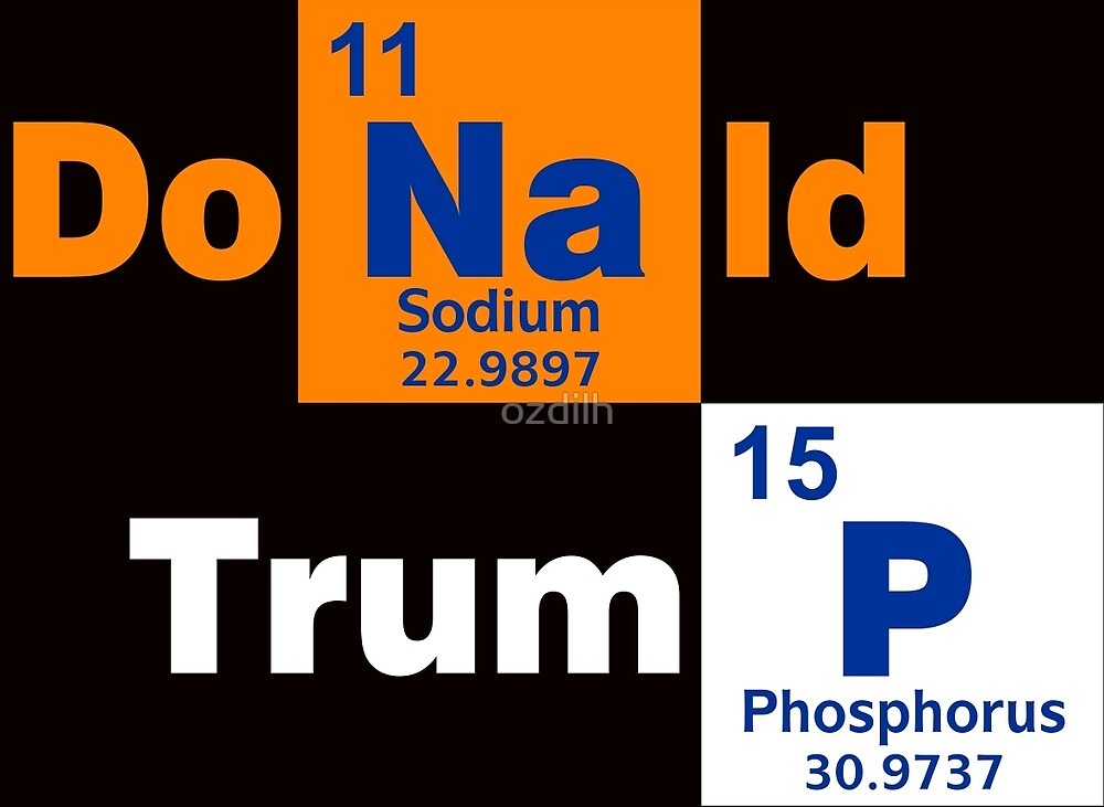 Donald Trump 2016 Chemical by ozdilh