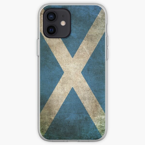 Old and Worn Distressed Vintage Flag of Scotland iPhone Soft Case