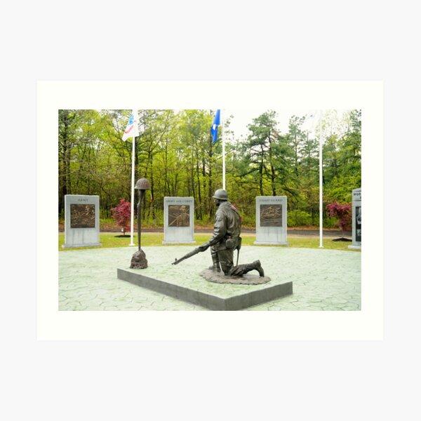 World War II Veterans Memorial Park Art Print