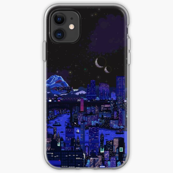 Nightlife of Carbon Valley iPhone Soft Case