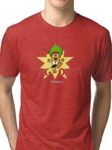 Carrotty Kid: Veg Out Tri-blend T-Shirt