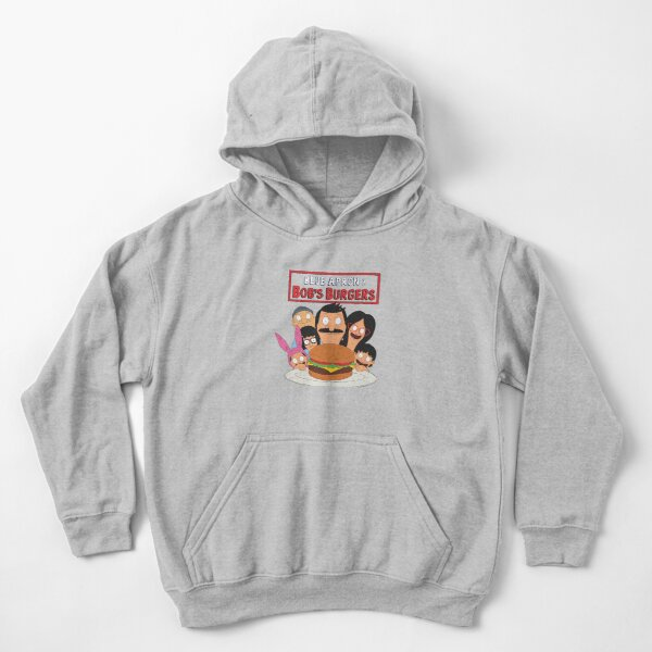 Bobs Burger Family Kids Pullover Hoodie