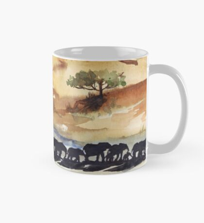 African Silhouettes Mug