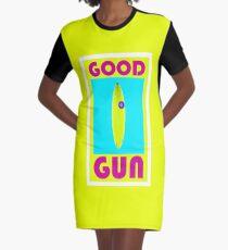 Good Gun Graphic T-Shirt Dress