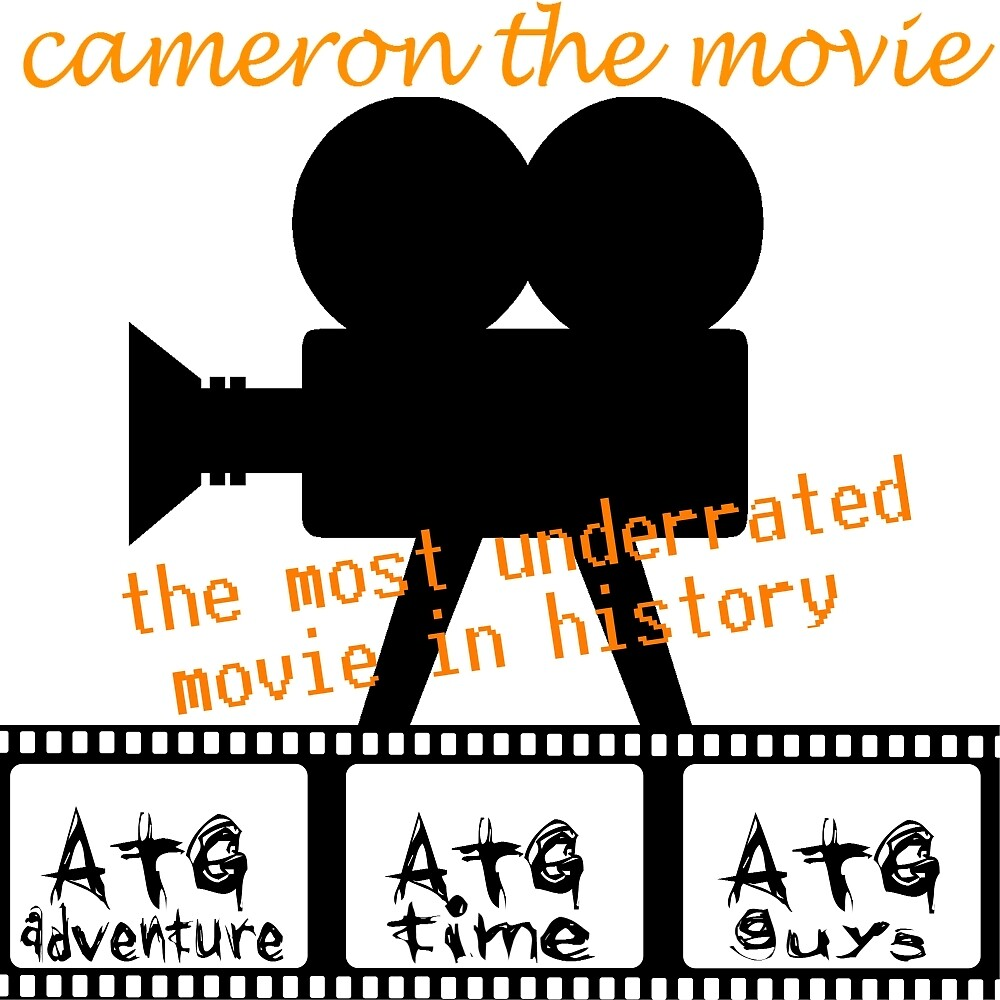 ATG camerons cameron the movie t shirt by ATGofficialgear