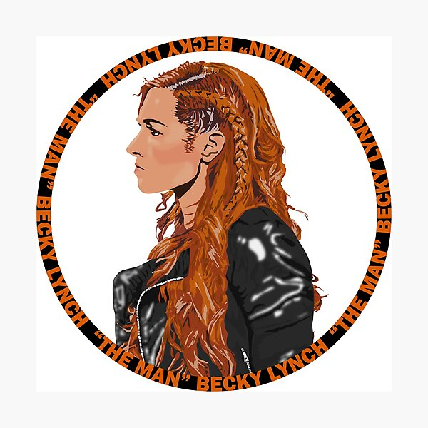 The Man Becky Lynch Photographic Print