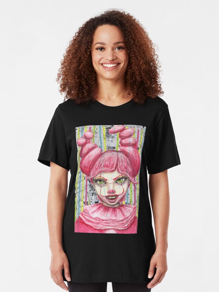 """Alternate view of If """"It"""" Had A Daughter Slim Fit T-Shirt"""
