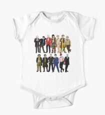 Doctor Who - Alternate Costumes 13 Doctors One Piece - Short Sleeve