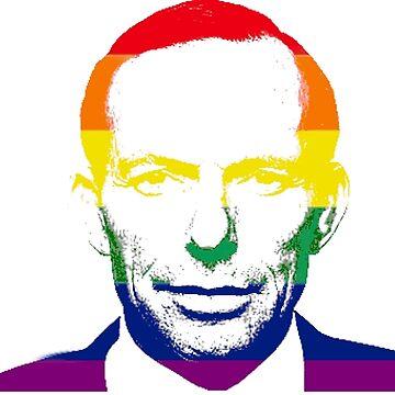 Pride Rainbow Tony Abbott by LamourDeLaBooty
