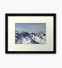 View from the Schilthorn Framed Print