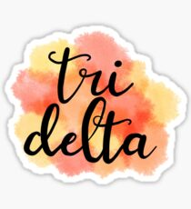 Tri delta  Sticker