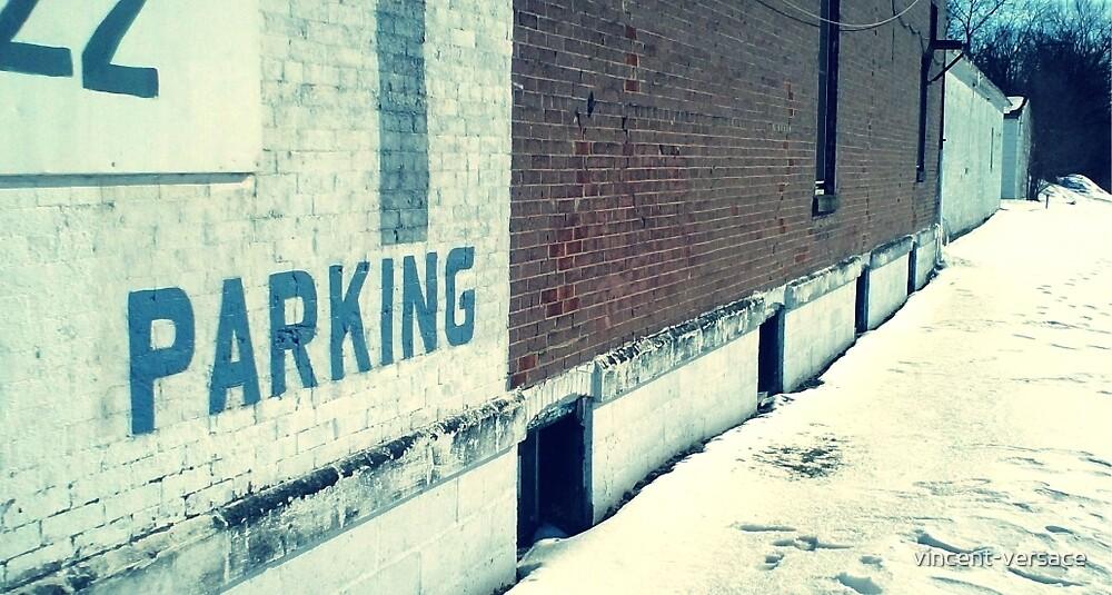 Parking, Winter 2014 by vincent-versace