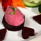 Beet Root Mousse  by SmoothBreeze7
