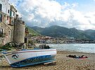 Fishing Boat - Cefalu,  Sicily by T.J. Martin