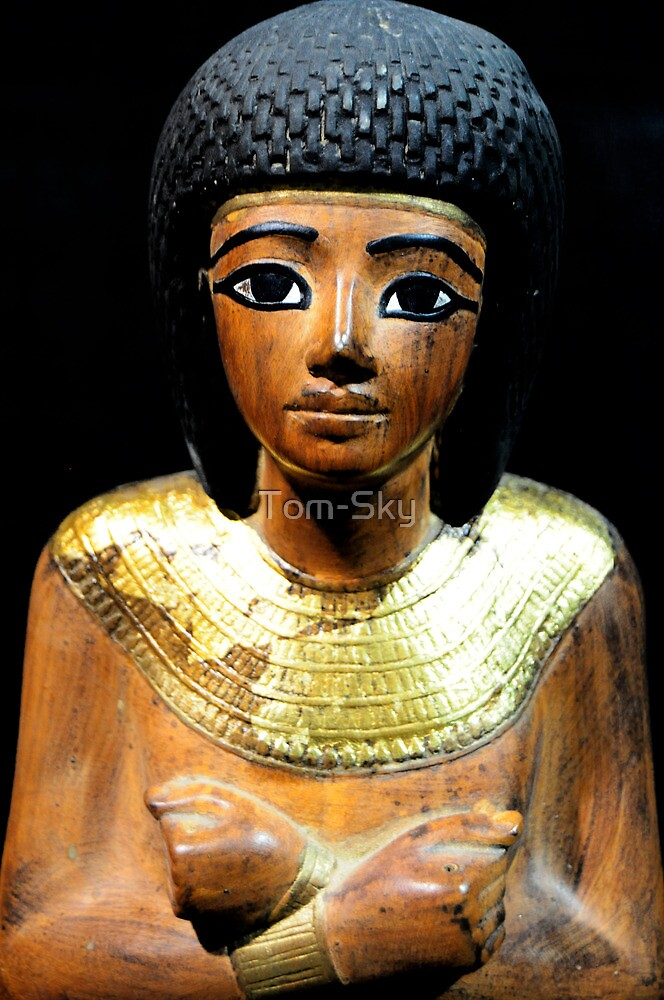 King Tutankhamun and ancient Egypt treasures by Tom-Sky