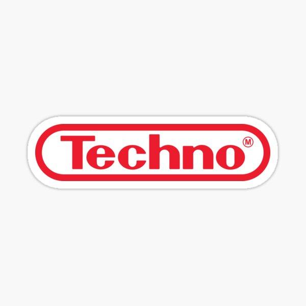Jeu Techno Sticker