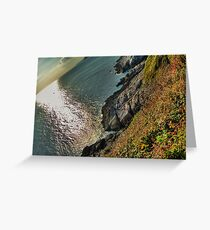 The Gower - Swansea, Wales Greeting Card