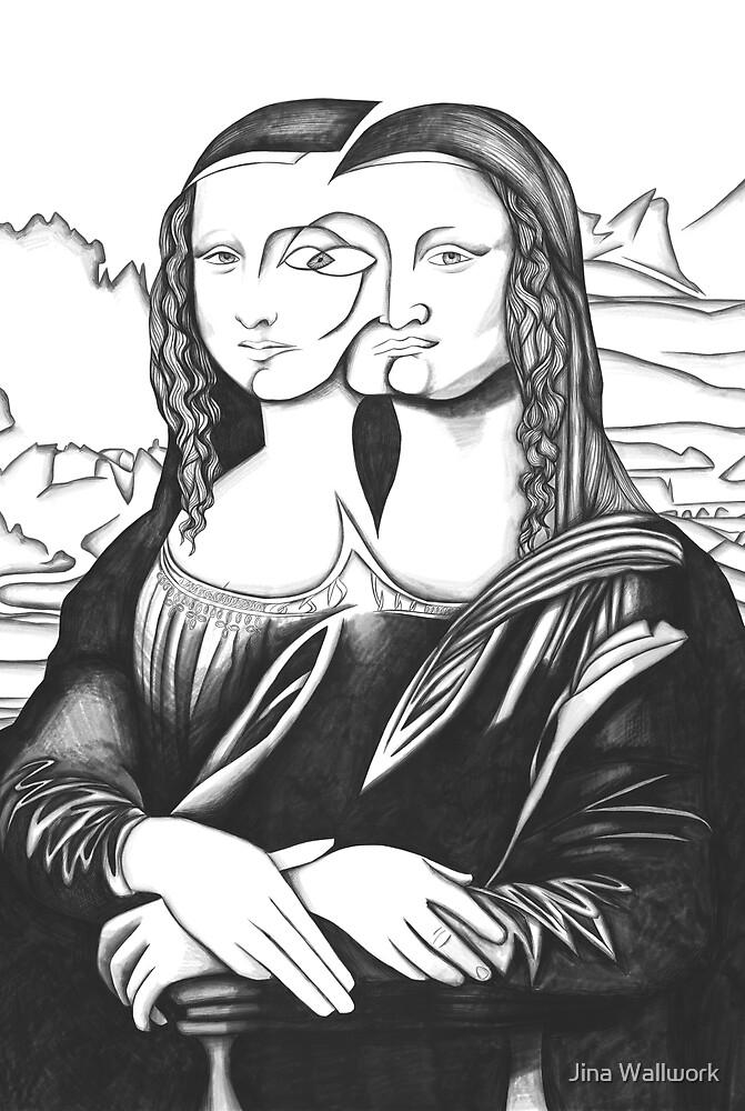 Mona Lisa 46 by Jina Wallwork