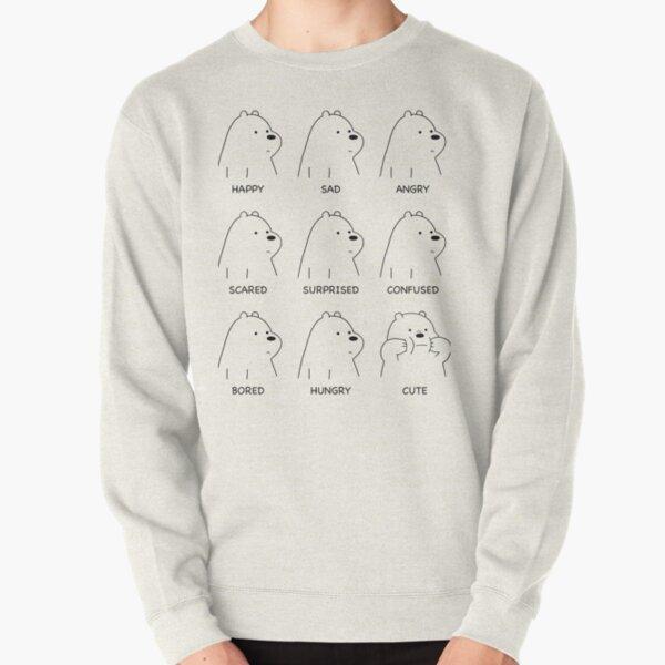 Ice Bear Moods Pullover Sweatshirt