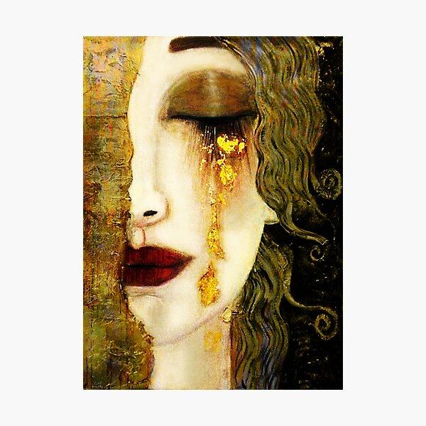 Golden Tears Freya's Tears of Gold Anne Marie Zimmerman (School of Klimt) Photographic Print