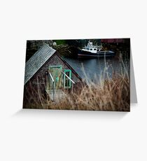 Herring Cove, Nova Scotia Greeting Card