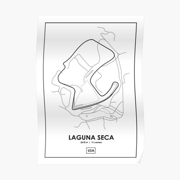 1970 Laguna Seca Trans Am Poster Art Print