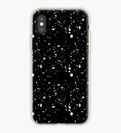 Decorative products with spots,Black background. iPhone Case