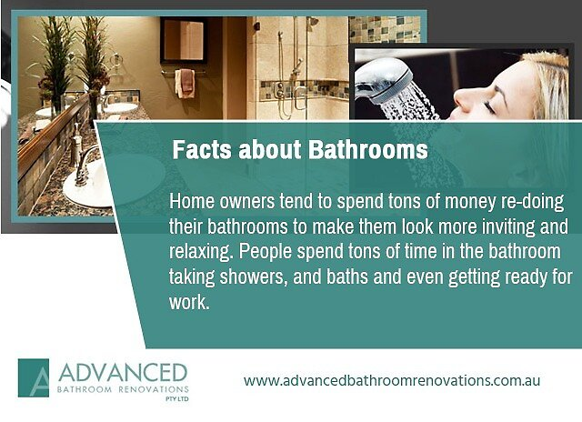 Facts about Bathrooms by advancedbathroo