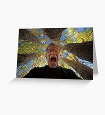 Screaming Trees Greeting Card